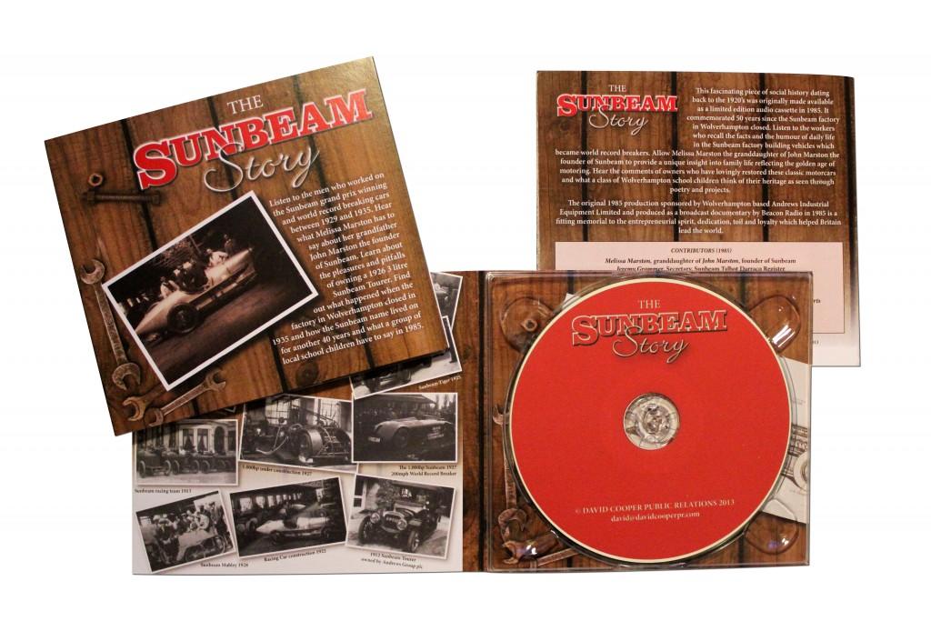 Sunbeam Audio Cd